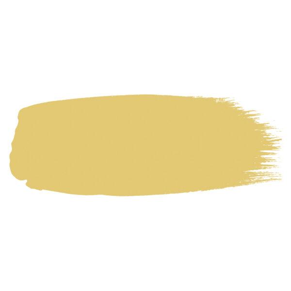 Little Greene verf kwaststreek van kleur SUNLIGHT (135)