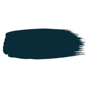 Little Greene verf kwaststreek van kleur HICKS BLUE (208)