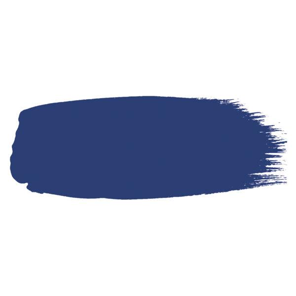 Little Greene verf kwaststreek van kleur SMALT (255)