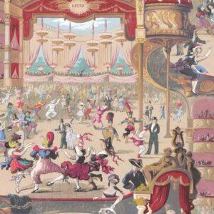 Behang Cabaret uit de WHIMSICAL-collectie van Cole & Son