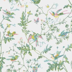 Behang Hummingbirds uit de ICONS-collectie van Cole & Son