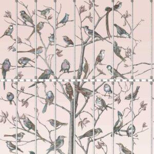 Behang Uccelli uit de FORNASETTI-collectie van Cole & Son