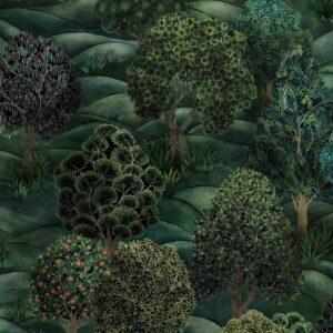 Behang Forest uit de BOTANICAL BOTANICA-collectie van Cole & Son
