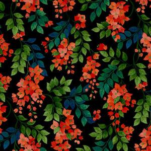 Behang Bougainvillea uit de SEVILLE-collectie van Cole & Son