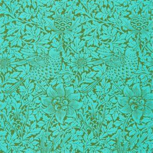 Behang Bird & Anemone uit de QUEEN SQUARE WALLPAPERS-collectie van Morris & Co.