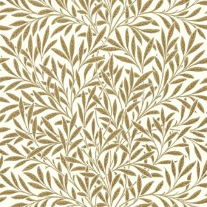 Behang Willow uit de QUEEN SQUARE WALLPAPERS-collectie van Morris & Co.