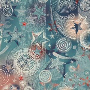 Behang Etoiles uit de UN MONDE PARFAIT-collectie van Lelievre voor Lièvre