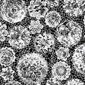 Detail van behang Punto Madama uit de POP ROCK-collectie van Lelievre voor Lièvre