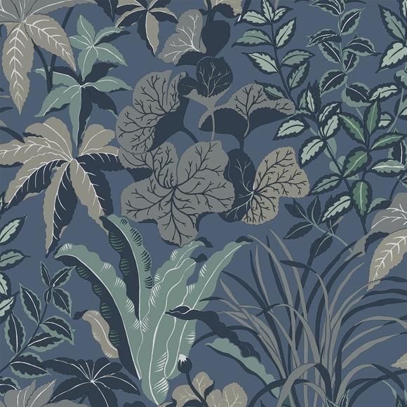 Behang Magic Garden uit de MAGIC GARDEN-collectie van Au Fil des Couleurs