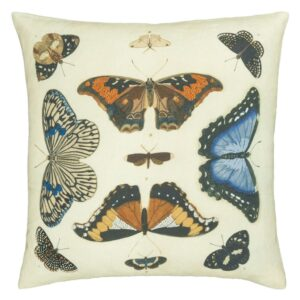 kussen Mirrored Butterflies Parchment Cushion van John Derian