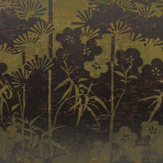 Behang La Montagne Sacrée uit de Soleil Levant-collectie van Élitis