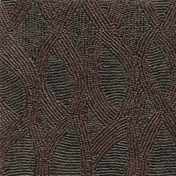 Behang Topaze uit de Perles-collectie van Élitis
