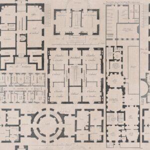 Behang Chateau uit de ECLECTIC-collectie van Mind The Gap