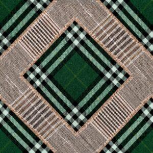 Behang Checkered Patchwork uit de WORLD OF FABRICS-collectie van Mind The Gap