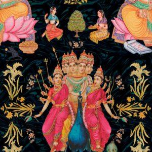 Behang Goddess uit de WORLD OF FABRICS-collectie van Mind The Gap