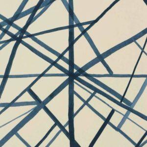 Behang Periwinkle/Oat  uit de WALLPAPERS-collectie van Kelly Wearstler