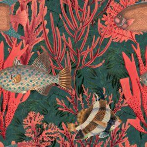 Behang The Undersea uit de ATOLL-collectie van Mind The Gap