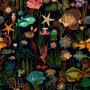 Behang Oceania uit de ATOLL-collectie van Mind The Gap