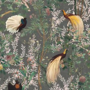 Behang Royal Garden uit de THE TRANSYLVANIAN MANOR-collectie van Mind The Gap