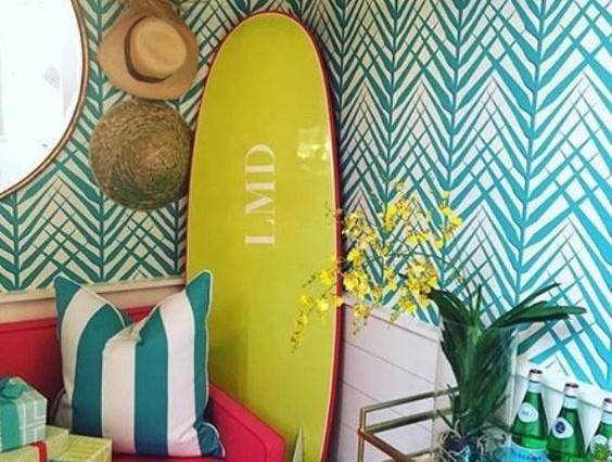 Trendy palmenbehang van Nobilis