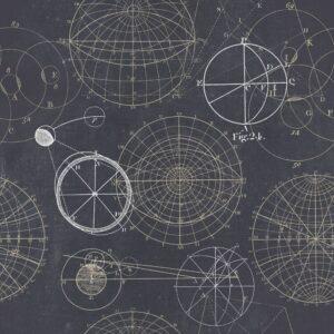 Behang Astronomy uit de Discovery-collectie van Mind The Gap