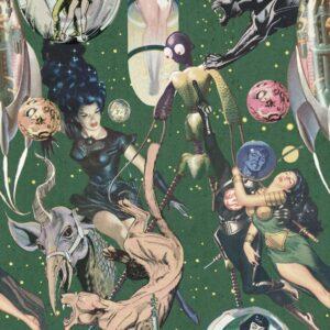 Behang Sci-Fi Comics uit de Eclectic-collectie van Mind The Gap