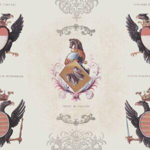 Behang Coats of Arms uit de Eclectic-collectie van Mind The Gap