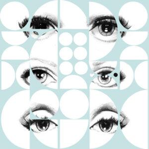 Behang Eyes uit de Contemporary-collectie van Mind The Gap