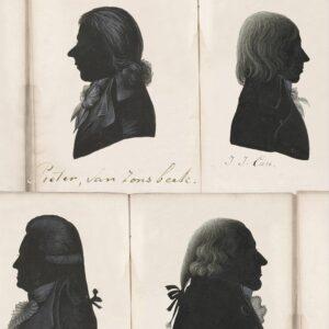 Behang Dutch Portraits uit de Dutch Blauw-collectie van Mind The Gap