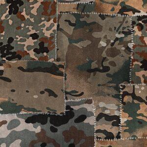 Behang Camo uit de Fabric Obsession-collectie van Mind The Gap