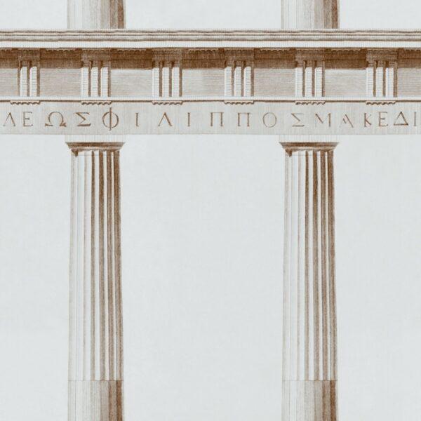 Behang Athena uit de Histoire de l'Architecture-collectie van Mind The Gap