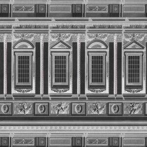 Behang Vaticano uit de Histoire de l'Architecture-collectie van Mind The Gap
