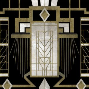 Behang Glamour uit de Metropolis-collectie van Mind The Gap
