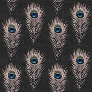 Behang Peacock uit de Metropolis-collectie van Mind The Gap