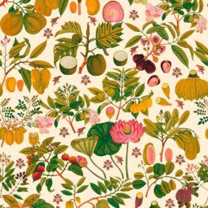 Behang Asian Fruits and Flowers   uit de Florilegium-collectie van Mind The Gap