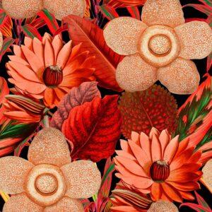 Behang Water Lilies uit de Florilegium-collectie van Mind The Gap