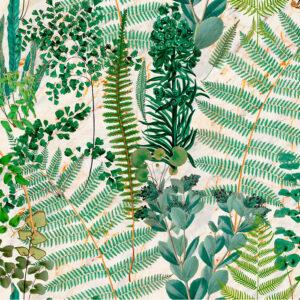 Behang Green Sanctuary uit de Florilegium-collectie van Mind The Gap