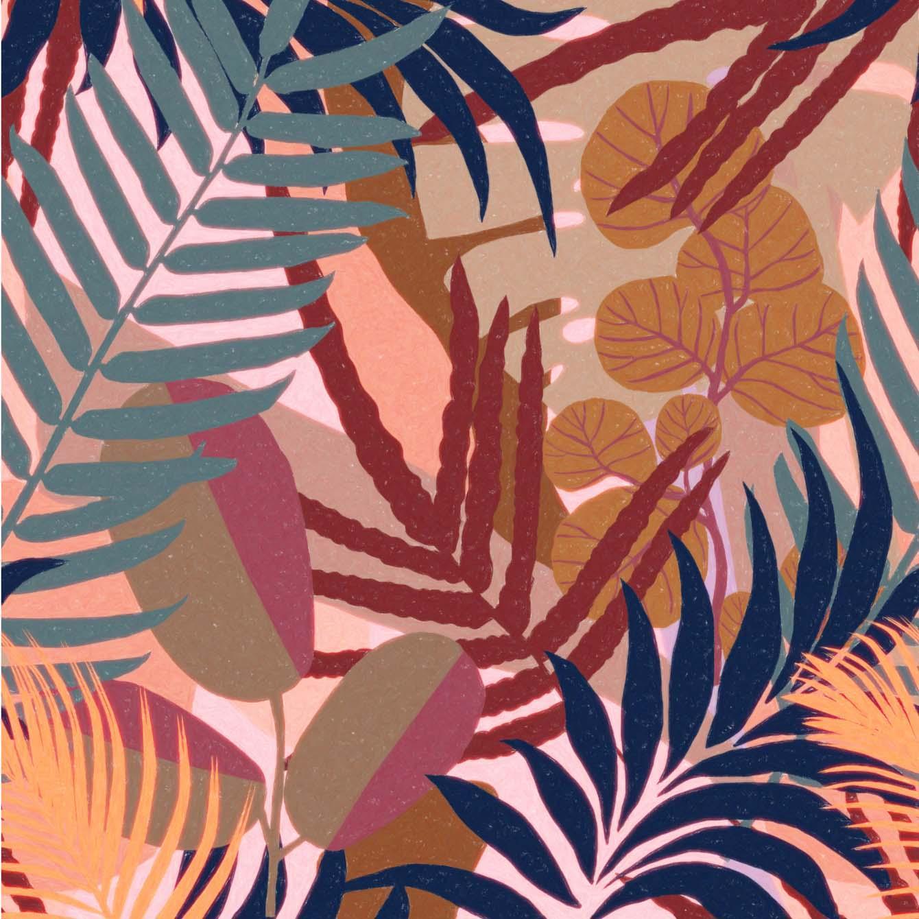 Behang Jardin uit de Cubana-collectie van Mind The Gap