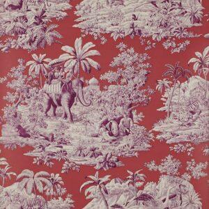 Behang Bengale uit de Papiers Peints Trianon-collectie van Manuel Canovas