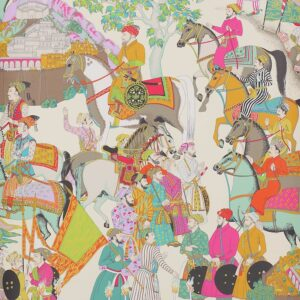 Behang Dara uit de Papiers Peints Vol 5-collectie van Manuel Canovas