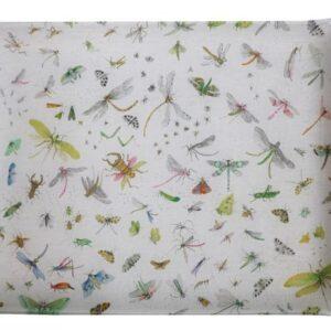 dienblad La Serre aux Papillons uit de PLATEAUX-collectie van Pierre Frey