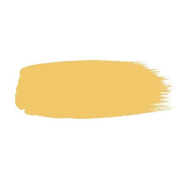 Little Greene verf kwaststreek van kleur Giallo (337)