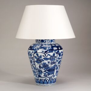 Lamp Imari Vase - Blue and White uit de -collectie van Vaughan