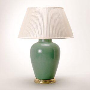 Lamp Melon Vase - Crackled Celadon uit de -collectie van Vaughan