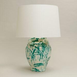 Lamp Rutherford Urn Table Lamp uit de -collectie van Vaughan