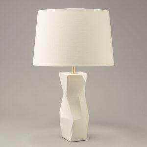 Lamp Longton Faceted Table Lamp uit de -collectie van Vaughan