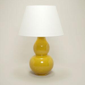 Lamp Avebury Table Lamp (Mustard) uit de -collectie van Vaughan