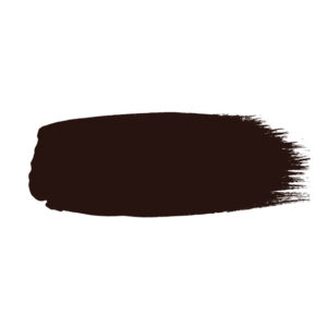 Little Greene verf kwaststreek van kleur Purple Brown (8)