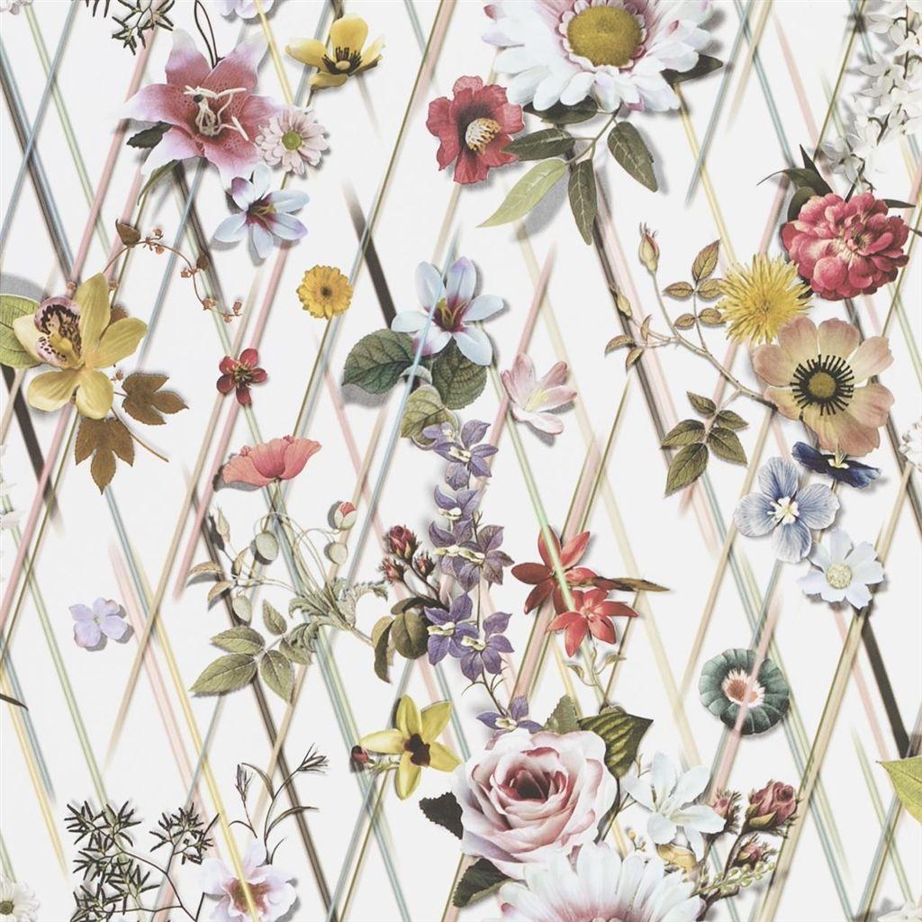 Behang Rocaille uit de Au Theatre Ce Soir Wallpaper-collectie van Christian Lacroix