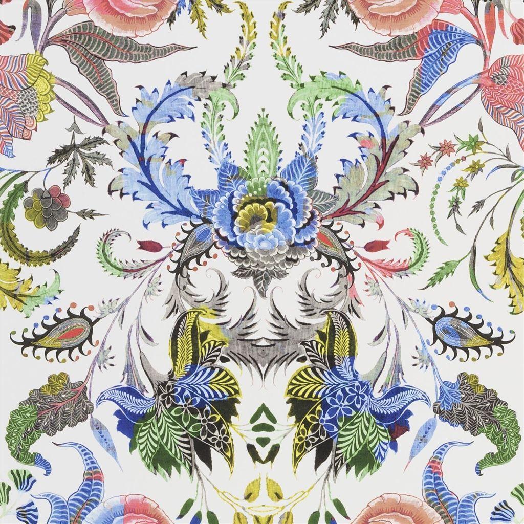 Behang Noailles uit de Au Theatre Ce Soir Wallpaper-collectie van Christian Lacroix